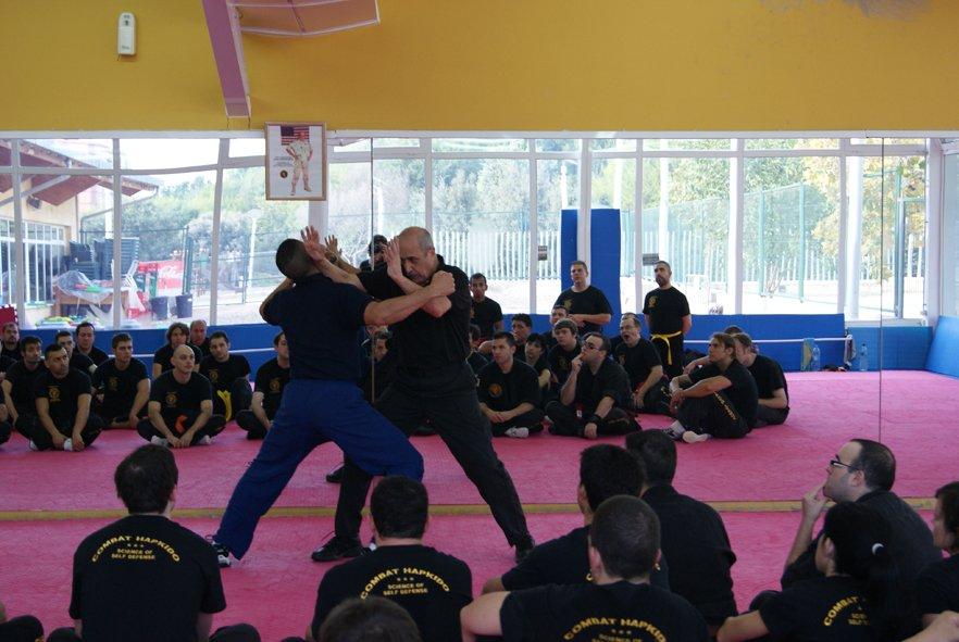 Seminario de Combat Hapkido en el Canal 9 en Valencia 1