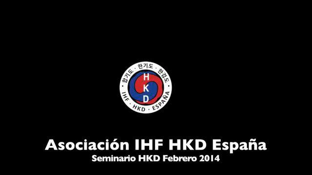 Seminario de Hapkido por la IHF 1