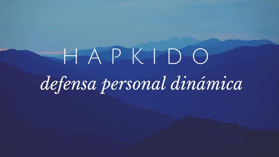 hapkido defensa personal dinamica